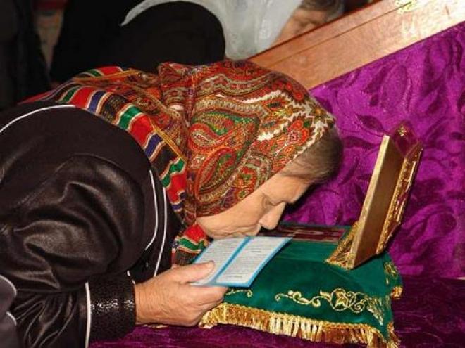 Жители Самары могут поклониться мощам святой Матроны Московской