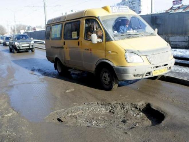 Мэр Самары лично проинспектировал состояние городских дорог