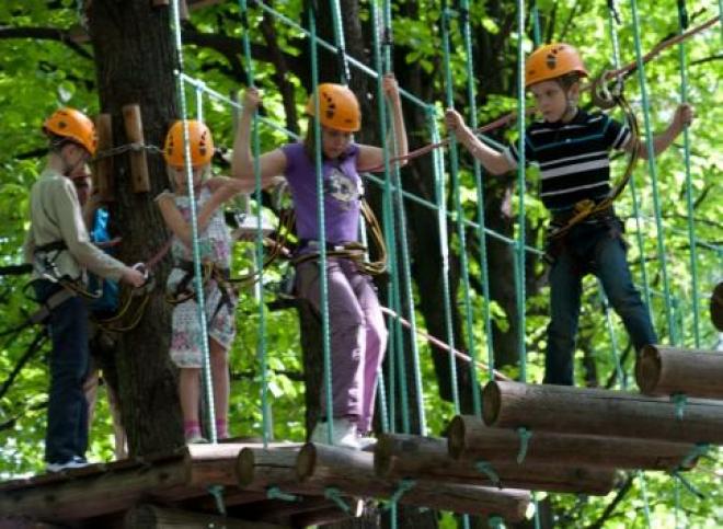 В Самаре появился веревочный парк