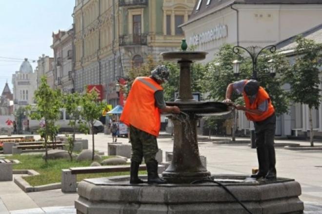 В Самаре 22 апреля пройдут пробные запуски фонтанов
