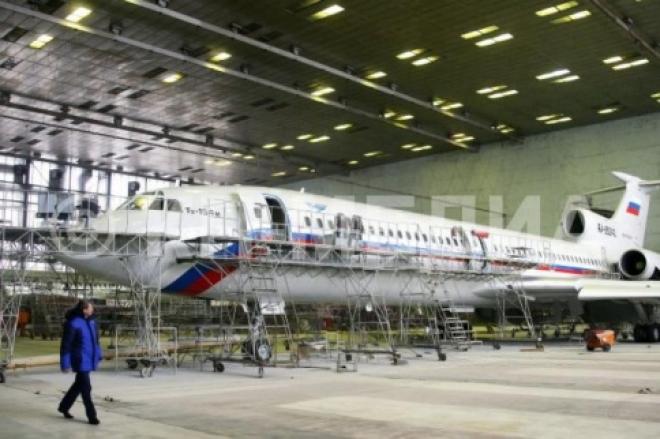 В Чёрное море рухнул самолет Ту-154, обслуживающийся на самарском заводе «Авиакор»