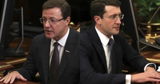 Интернет-пользователи обсуждают удивительное сходство двух новых губернаторов