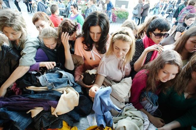 В Самаре откроется фримаркет, в котором можно бесплатно забрать вещи и книги
