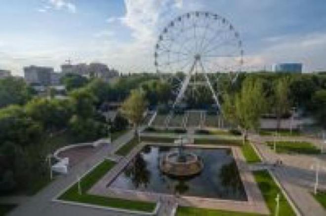 Новое колесо обозрения в самарском парке Гагарина обещают установить в этом году