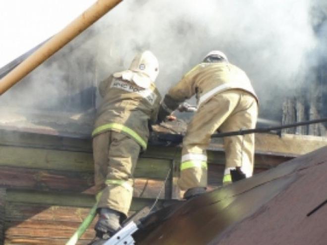 В Самаре потушили крупный пожар