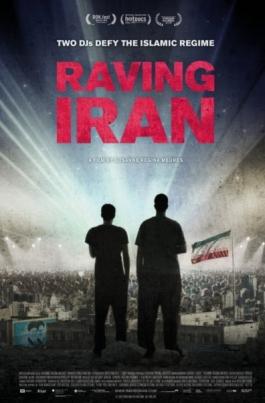Рейв в ИранеRaving Iran постер