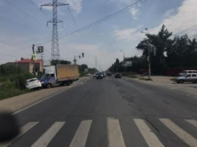 В Самаре на Красноглинском шоссе в аварии пострадал 4-летний ребенок