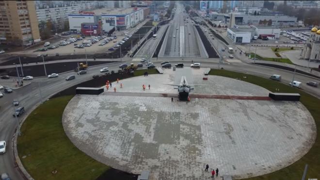 В Самаре открыли отреставрированный монумент легендарному самолету Ил-2