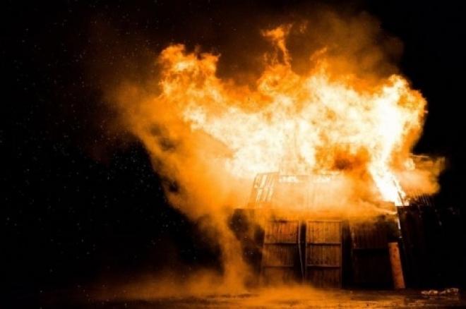 В Самарской области на пожаре погибли трое рабочих