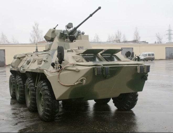 Мотострелковой бригаде Самарской области выдали новейшие БТР с кондиционерами