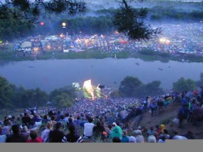 Грушинский фестиваль 2012 года посвятили экологии (Самара)