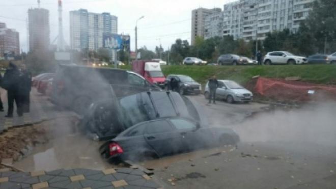 Асфальт на проспекте Ленина в Самаре мог провалиться из-за коррозии металла